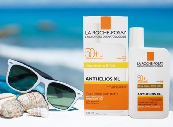 Kem chống nắng La Roche-Posay Anthelios XL SPF 50+ Fluid Ultra-Fluid
