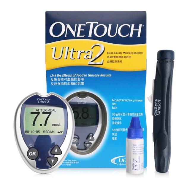 Máy đo đường huyết Johnson & Johnson One Touch Ultra 2