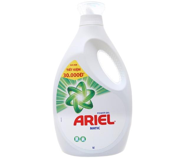 Chọn mua nước giặt nào tốt – Nước giặt Ariel