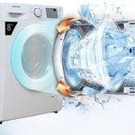 cách vắt quần áo bằng máy giặt