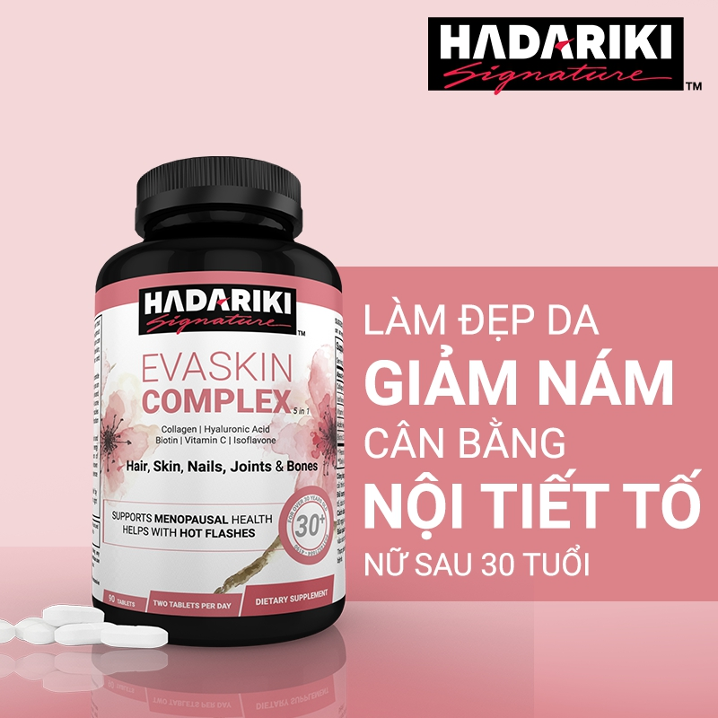 Hadariki Evaskin có công dụng gì?