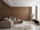 lam gỗ phòng khách - vách ngăn phòng khách bằng gỗ đẹp